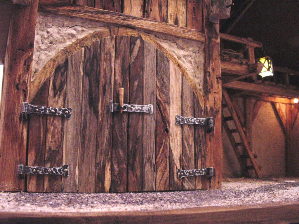 Rustikale Türbeschläge rustikaler krippenstall